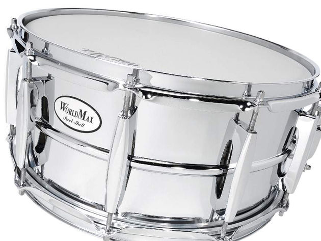 Worldmax metal-shell snare: a veritable bargain