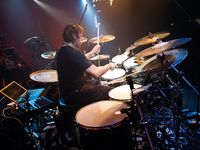 Thomas Lang and Benny Greb's drum setups in pictures