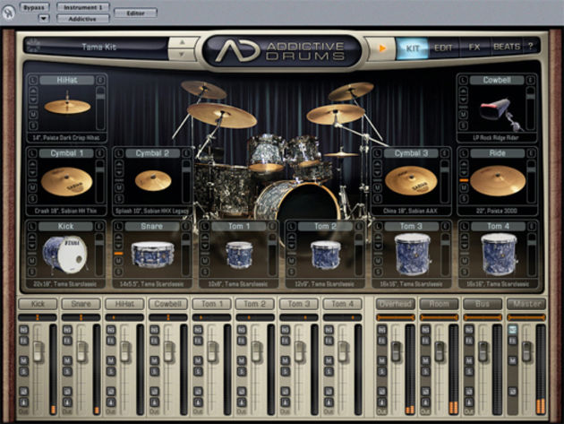 XLN Audio Addictive Drums
