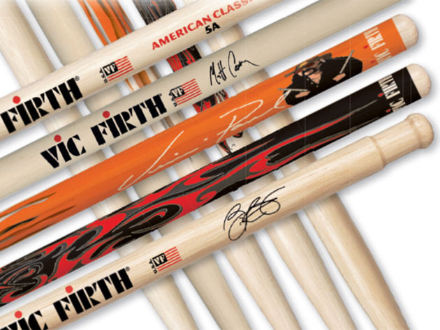Best high-end drum sticks: Vic Firth