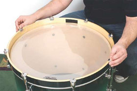Bass drum tuning