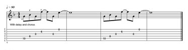 EXAMPLE 31: g minor 13, pink floyd-style!