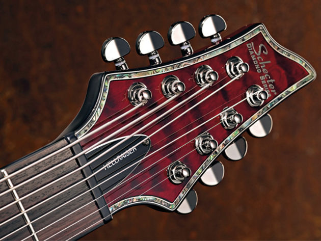 Schecter Hellraiser C-8 sounds, pros and cons