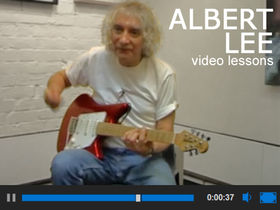 Albert Lee video guitar lessons