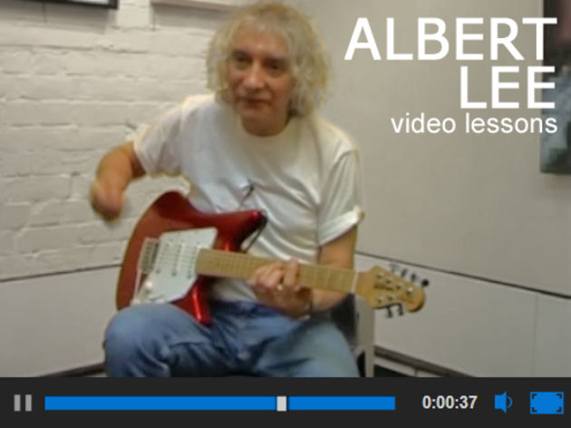 Learn from the expert: Albert Lee teaches guitar