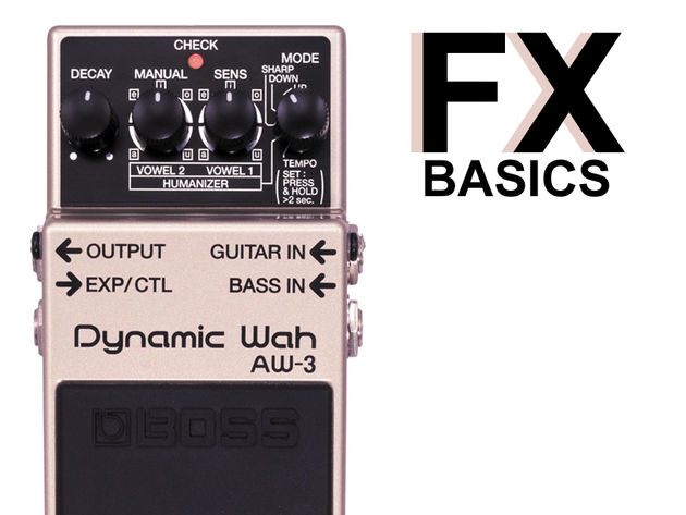 Boss's Dynamic Wah is a versatile autowah that can emulate many vocal sounds