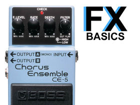 Guitar FX basics: What is chorus?