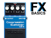Guitar FX basics: What is compression?