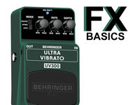 Guitar FX basics: What is vibrato?