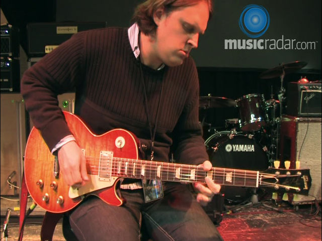 Joe Bonamassa plays a solo just for MusicRadar users