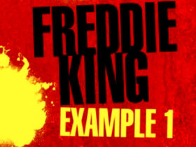 Play blues guitar like Freddie King