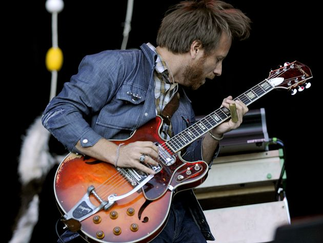 Black Keys frontman Dan Auerbach onstage in San Francisco in 2011