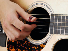 Acoustic guitar lessons: open D minor tuning