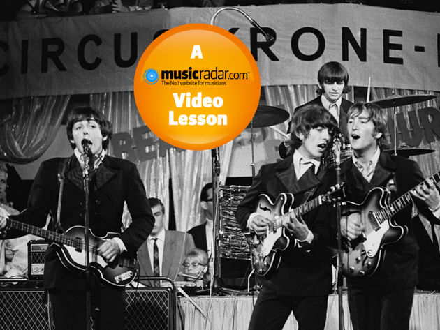 The Beatles live at Circus Crone