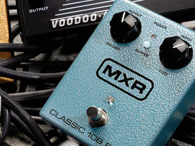 MXR Classic 108 Fuzz - £199