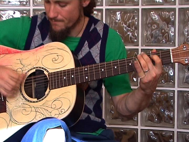 Check out John Butler's awesome acoustic slide playing in this video.