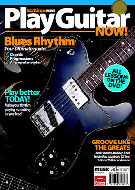 Play guitar now! blues rhythm