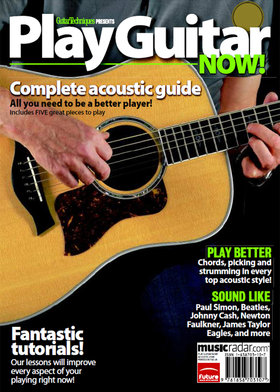 Play guitar now! complete acoustic guide