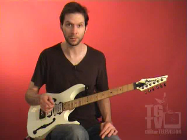 Paul Gilbert fires off another full-throttle lick