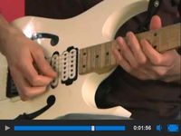 Paul Gilbert's power-piano guitar lick