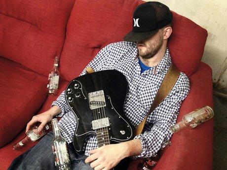 drunk guitarist