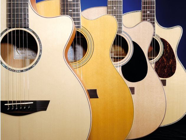 Round-up: 4 folk electro acoustic guitars under £500