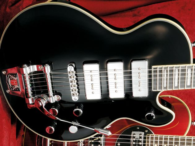 Hagstrom Super Swede Tremar P-90 £640