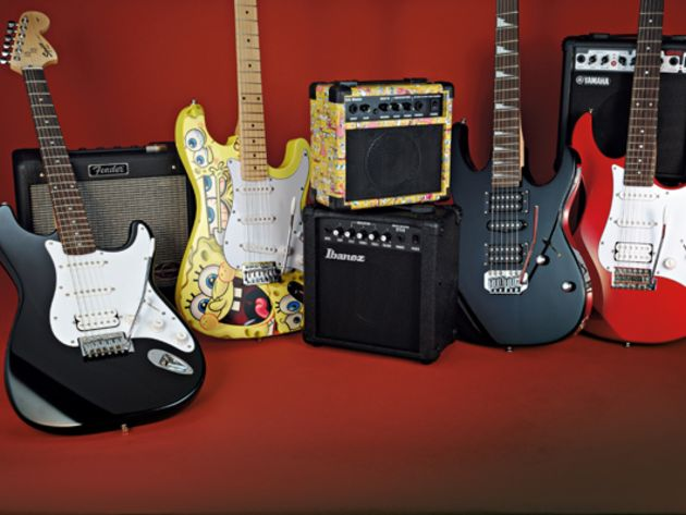 4 beginner guitar and amp starter packs (£159-£319)