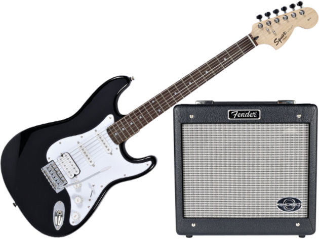 Squier 'Stop Dreaming, Start Playing' Pack price and spec