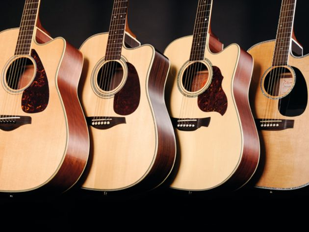4 affordable cutaway dreadnought acoustic guitars