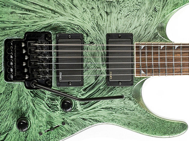 Jackson DKMG Green Swirl sounds, pros and cons