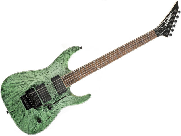 Jackson DKMG Green Swirl price and spec