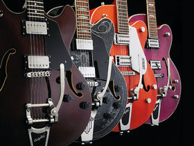 Round-up: 4 rockabilly-style semi-acoustic electric guitars