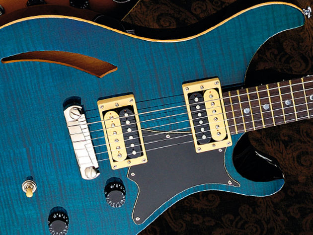PRS SE Custom Semi-Hollow sounds, pros and cons