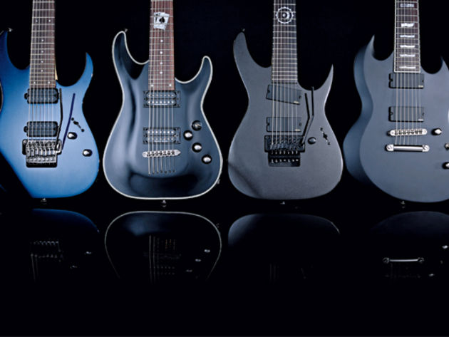 4 brutal 7-string electric guitars