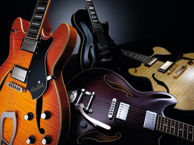 Round-up: 4 thinline semi-hollow electric guitars compared