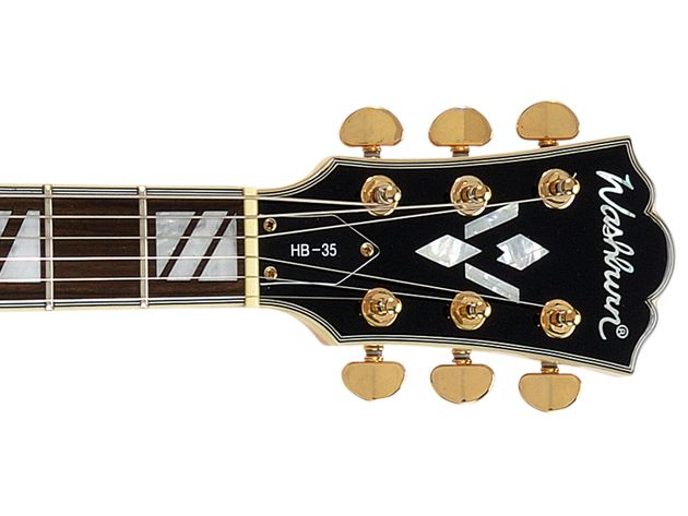 Washburn HB-35 build and features