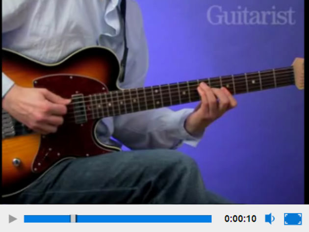 The tips here are demonstrated on video by Stuart Ryan, head of guitar at Bristol Institute of Modern Music