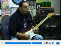 Walter Trout on string bending and vibrato