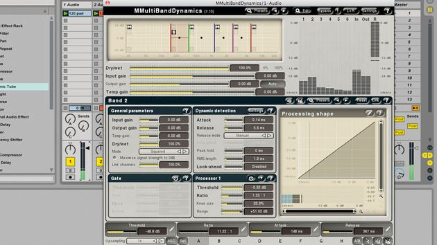 Plugin's such as MeldaProduction's MMultiBand Dynamics can help you to fine tune your mix.