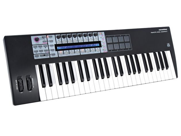 Some keyboards, such as Novation's ReMOTE SL, also have knobs, button and faders.