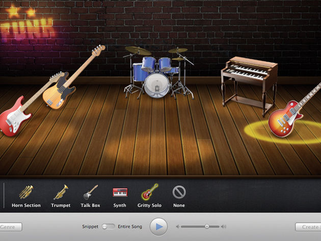 The heroic GarageBand - music-making made easier