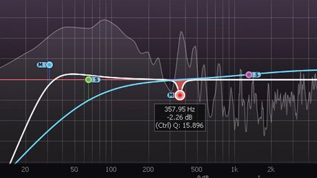 Mid side eq step 3