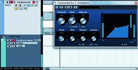 Parallel compression 3
