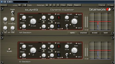 Dynamic eq step 2