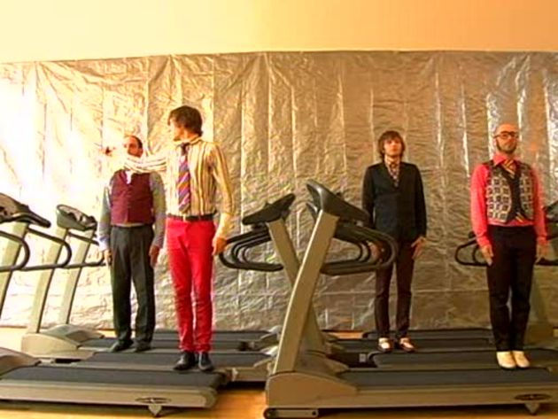 OK Go and the most famous treadmills in history.