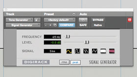 kicks 5 signal generator
