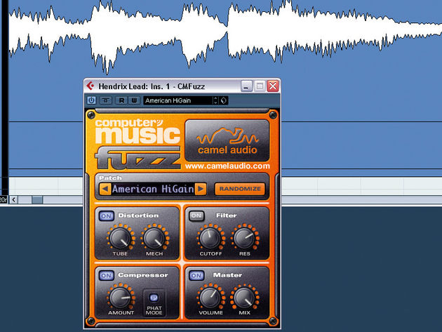CMFuzz is a meaty distortion plug-in.