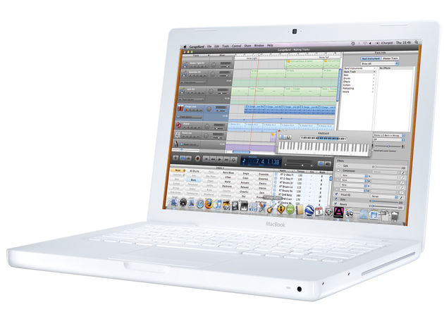 The current MacBook has been a big hit with music makers.