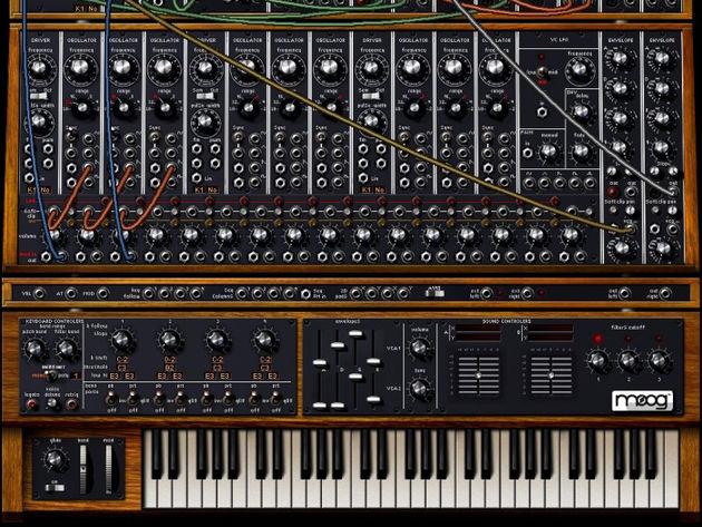 Relax: not every synth looks as intimidating as the Moog Modular V.
